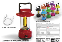 CLC-1612-4 COB RECHARGEABLE CAMPING LIGHT
